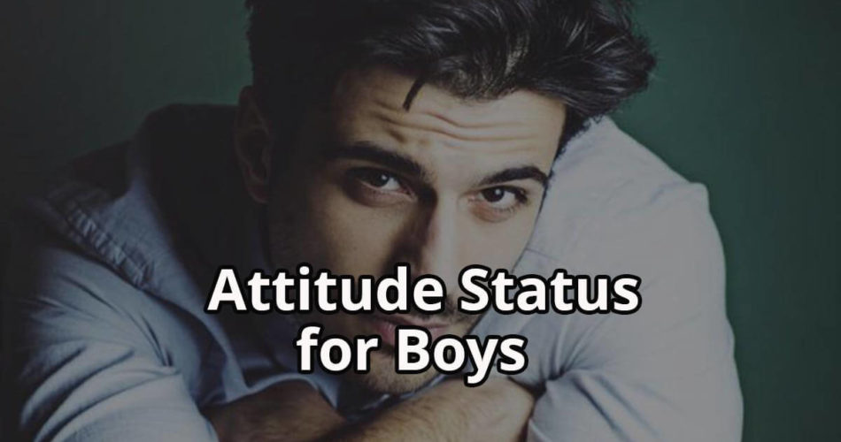 Attitude Status for Boys in Hindi | Attitude Status for Boys